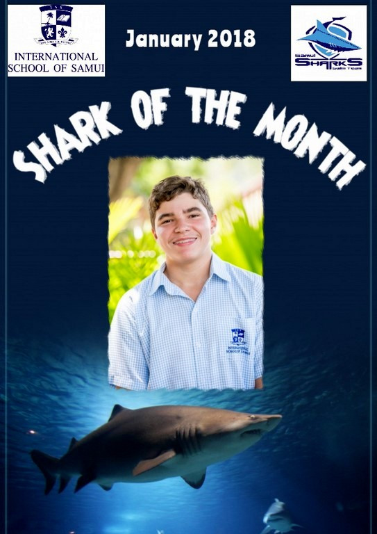 Paul-Eric Drozd is International School of Samui's Shark of the Month for January 2018