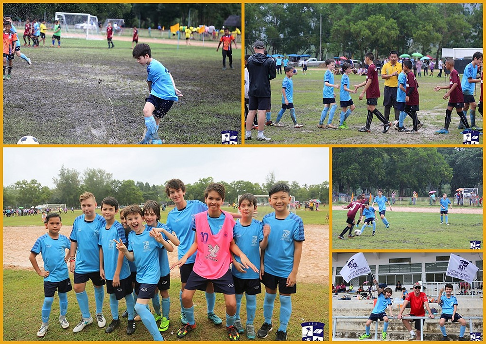 International School of Samui boys football team at Namuang Stadium, Koh Samui