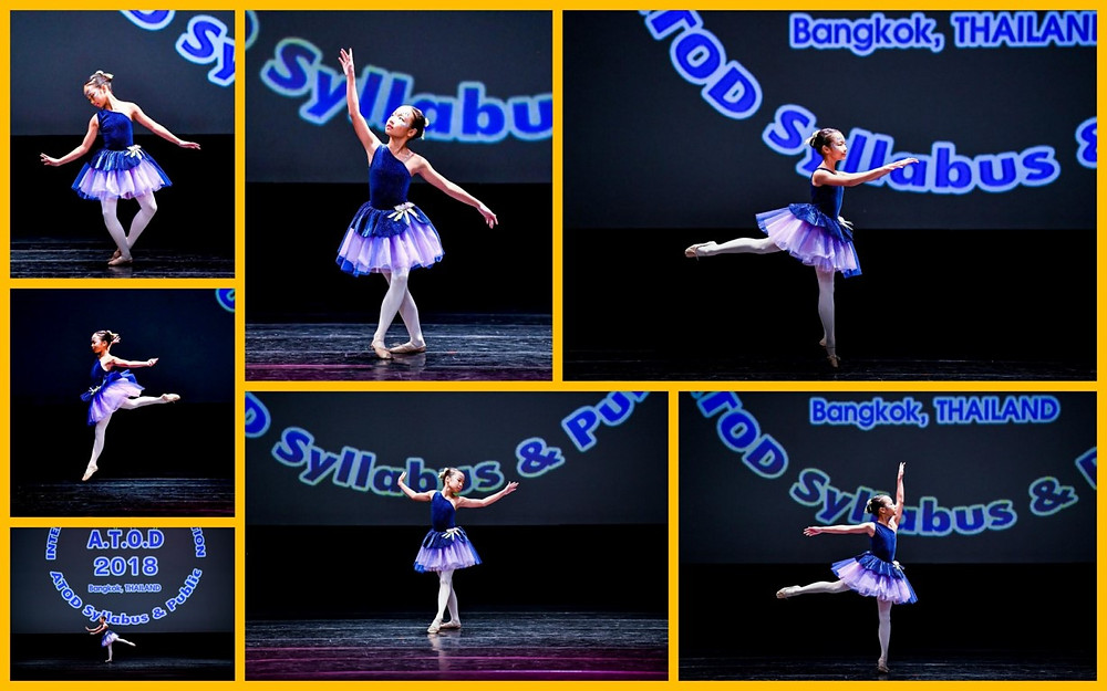 Arda performing at the ATOD International Dance Competition in Bangkok