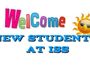 29 New Students at ISS! Welcome....