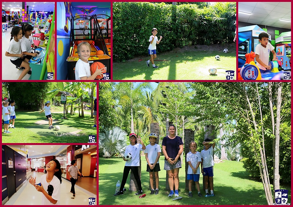 Louis, Theo, Uracha and Nongyhok had a super fun morning around Samui as their treat for being the most punctual students at the International School of Samui this year!