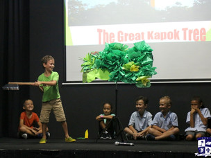 """Year 3 presents: Rainforests and """"The Great Kapok Tree"""""""
