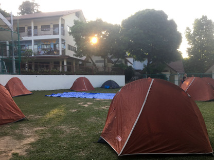 Camping at ISS field -- memorable experience <br> for Year 4 & 5