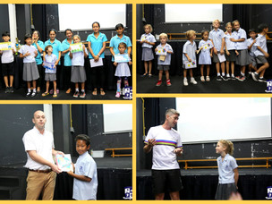Primary Assembly Finale for Term 2