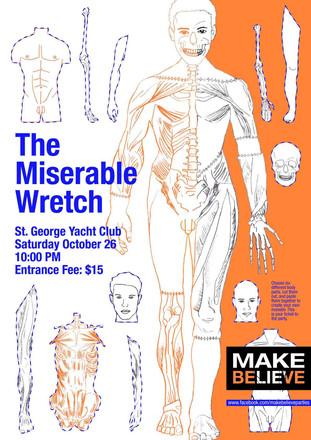 Frankenstein Party Poster