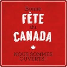 Bonne fête du Canada !