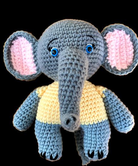 Esther the Elephant Free Amigurumi Pattern | Jess Huff | 550x455