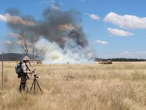 Predicting bushfire danger from space