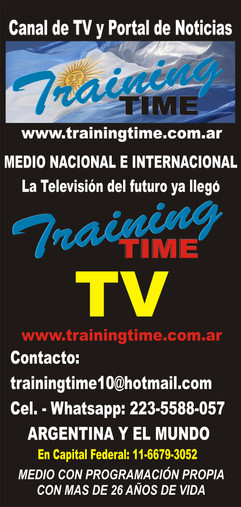 Training Time Facebook Oficial