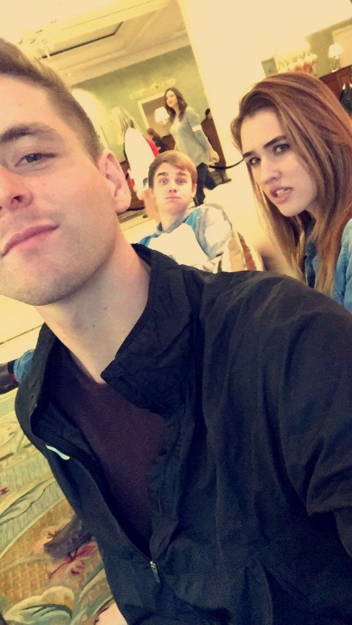 Scott Hannah, Makaila Nichols & Cameron Sanford