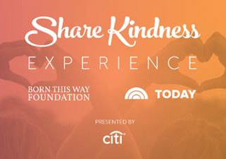 Born This Way Foundation hopes to inspire One Million Acts of Kindness