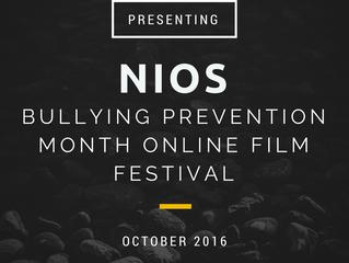 Join NIOS for Bullying Prevention Online Film Festival
