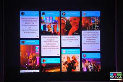 Social Media Board - Live Stream