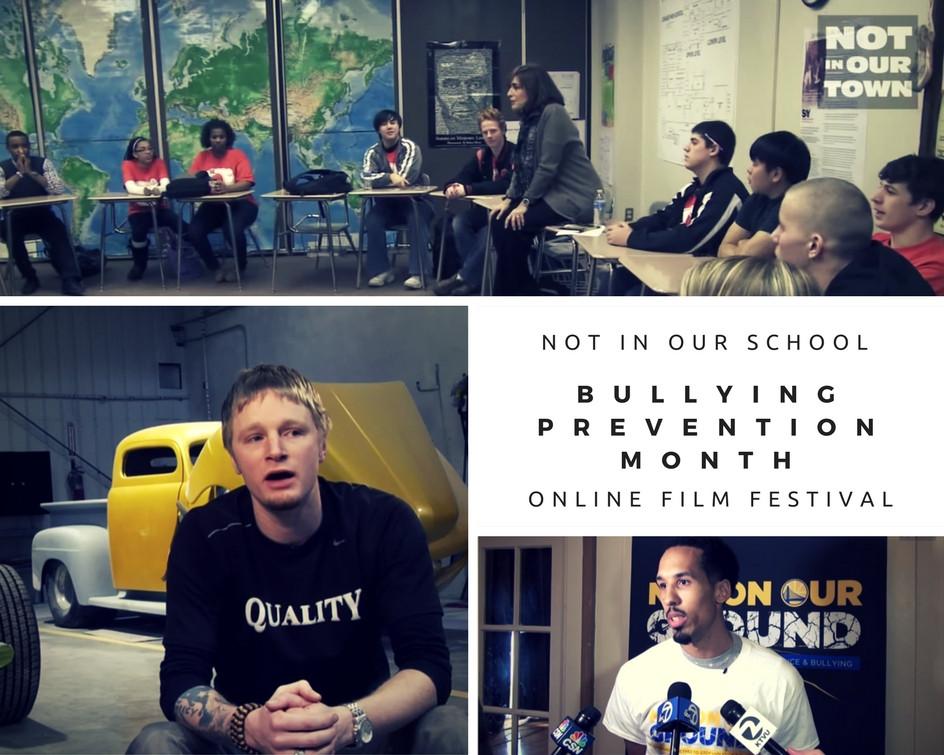 NIOS Bulling Prevention Month Online Film Festival