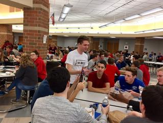 Scott Hannah joins Bailey Webber at Springboro High School