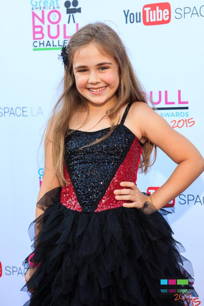 Addison Riecke on Red Carpet