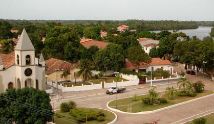 Praça da matriz em Barreirinhas.JPG