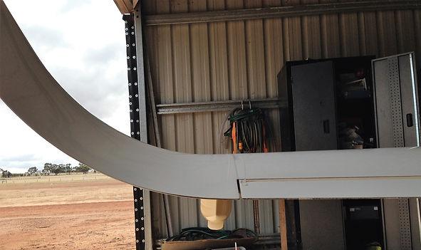 wingtip wheel rear view