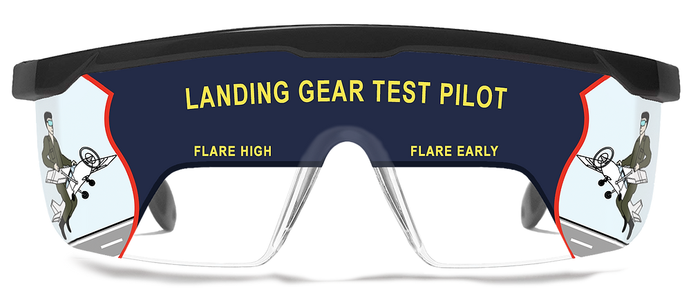 Scanners Aviator Spotlight Sophie Bilodeau. Pilot IFR View Limiting Training glasses.