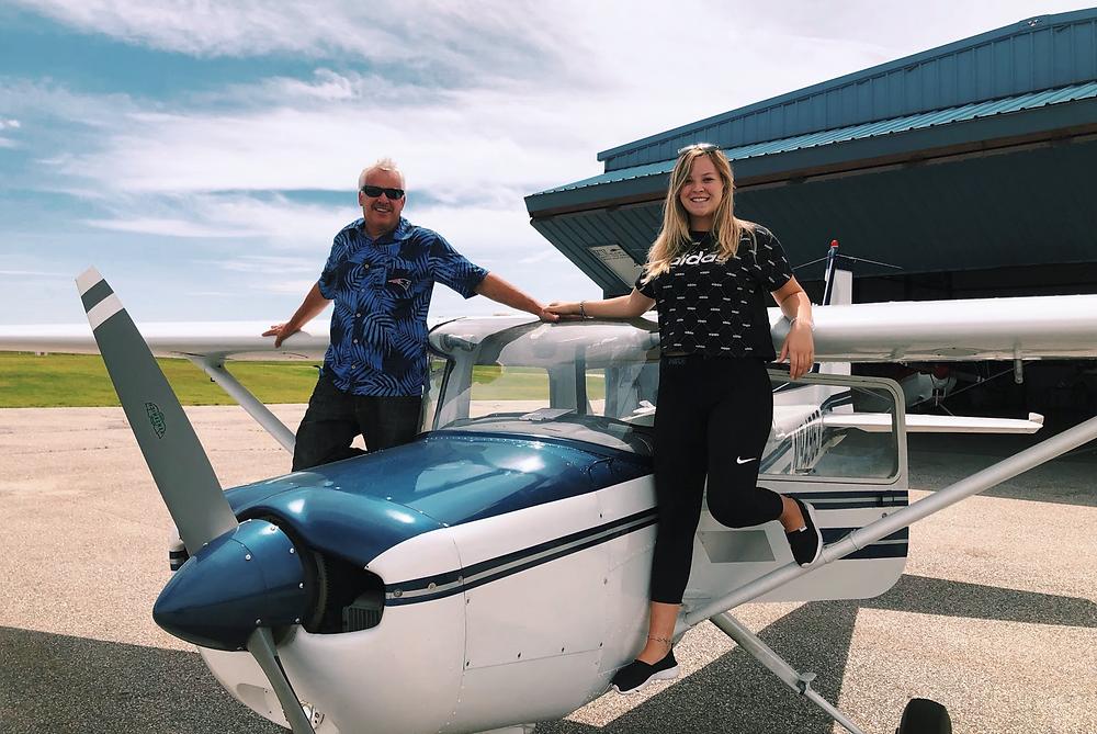 Scanners' Aviator Spotlight Sophie Bilodeau. Pilot IFR View Limiting Training Glasses
