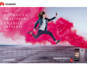 Da el salto. Huawei Mate 9