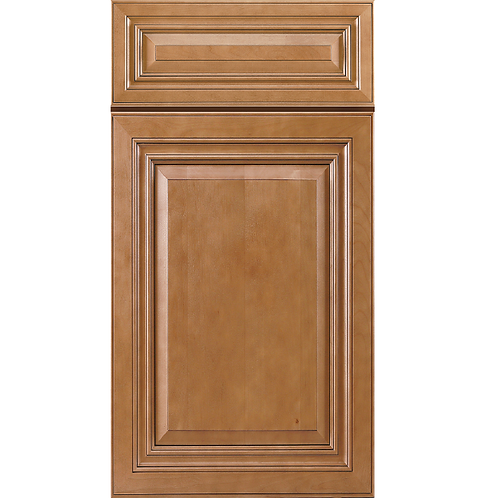 CO66 cinnamon maple glazed cabinet