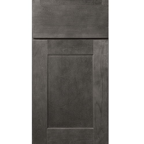 Dartmouth Grey stained shaker style cabinet