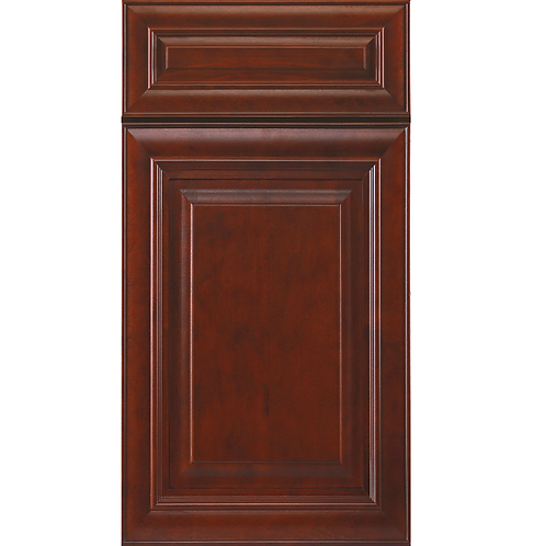 j5 mahogany maple cabinet dark red