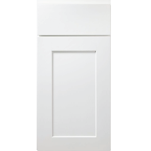 Dartmouth White painted shaker cabinet door