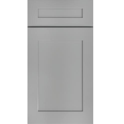 S5 castle grey shaker cabinet