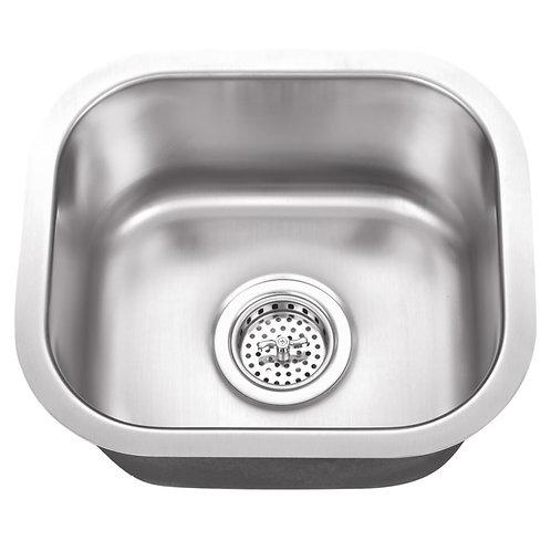 undermount square bar sink (S07)