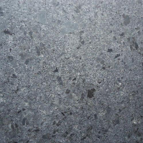 steel grey (leather finish) granite detail