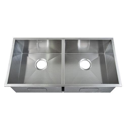 handmade double sink