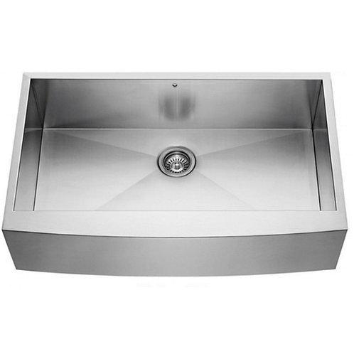farmhouse apron single bowl sink