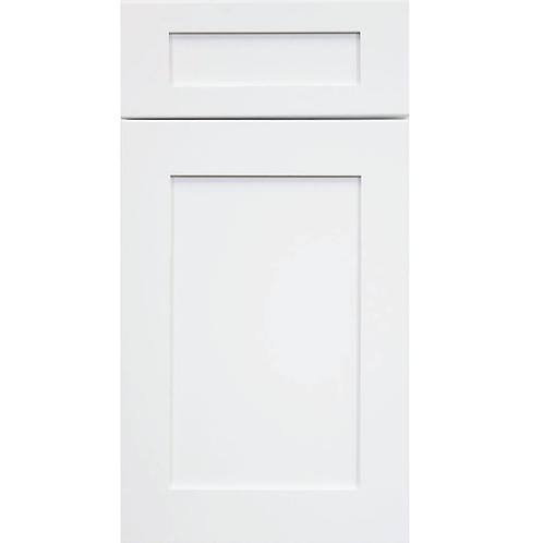 Ice White Shaker cabinet