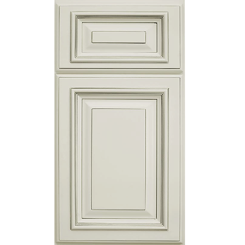 Signature Pearl off-white cream birch cabinet