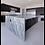 Brown fantasy quartzite waterfall kitchen island countertop