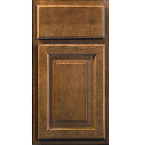 Saginaw Chestnut brown cabinet door