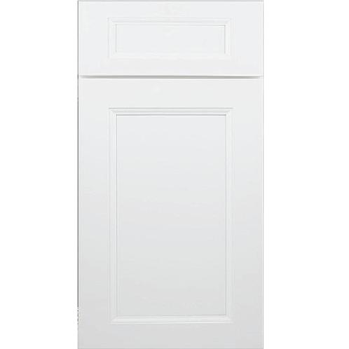 Uptown White birch MDF cabinet