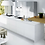 High gloss white blanco cabinet kitchen