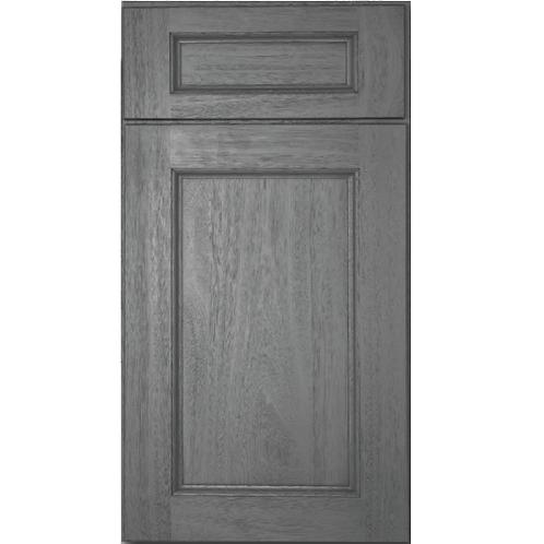 Midtown Grey eucalyptus grandis dark grey cabinet