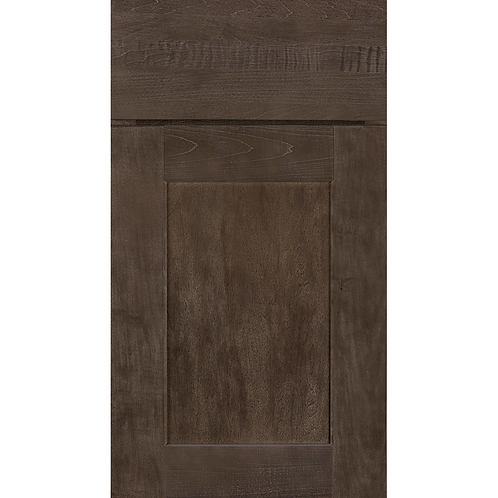 Dartmouth Brownstone stained cabinet door