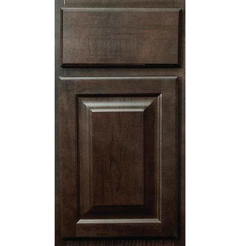 Saginaw Dark Sable brown cabinet door