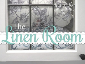 Recycled Kitchen Cupboards Part 1 - The Linen Room