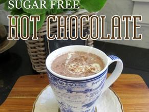 My Healthier Hot Chocolate Recipe - No added sugar!