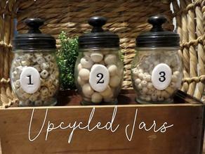 Upcycled Jars