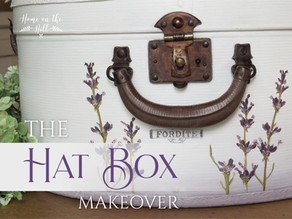 The 'Lavender Fields' Hat Box Makeover