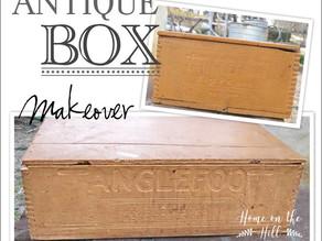 Antique Tanglefoot Box