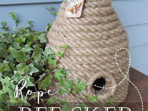 How To Make A Rope Bee Skep