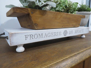DIY Vintage French Cheese Shop Display Stand